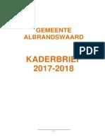 1220417 Bijlage Kaderbrief 2017-2018