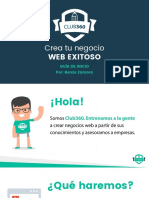 Creatu Negocio Web