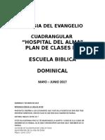 Plan de Clases EBD. Mayo Junio Ester