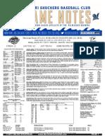6.26.17 vs. MIS Game Notes