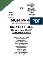 6.26.17 vs. MIS Stat Pack