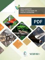 Reglamento Para La Gestion de Fauna Silvestre