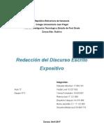 Redacción Del Discurso Excito Expositivos