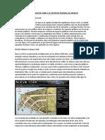 Espacios Publicos de Nueva York y El Distrito Federal de Mexico