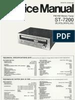 Hfe Technics St-7200 Service En