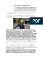 Fragmento Del Prólogo a La Antropologa Del Agua (Anne Carson)