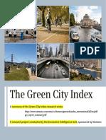 Índice de Cidade Verde Gci_report_summary