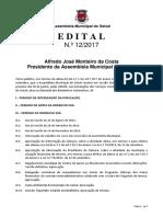Ordem de Trabalhos e documentação - 3ª Ordinária 2017 (30/06/2017)