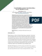 Reorientasi Pembelajaran Matematika Makalah Untuk Stkip Pgri Padang