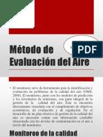 Método de Evaluación Del Aire