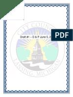 Lansing's latest proposed marijuana ordinance draft