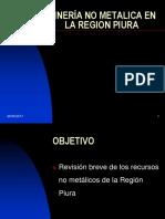 Minería No Metalica en La Region Piura