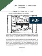 El papel de Israel en la represion mundial.pdf