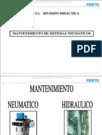 Curso Mantenimiento Sistemas Neumaticos Neumatica Aire Comprimido Secado Partes Componentes Diagnostico Averias
