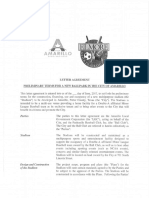 MPEV Letter Agreement
