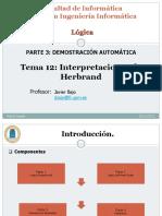 Tema 12 Interpretaciones Herbrand