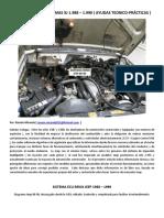 Ecu Renix y Sistemas Jeep 88-90