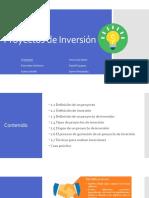 1Sem.Introduccionaproyectosdeinversión