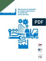 Manual Para La Evauacion de Riesgos Ergonómicos en e Sector Metal