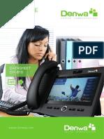 Datasheet Dw 810p Esp v2