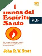 John Stott - Sed llenos del Espiritu Santo.pdf