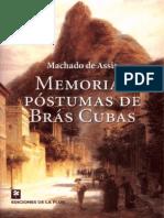 Memorias Postumas de Bras Cubas - Machado de Assis