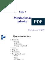 5. Instalación de Tuberias