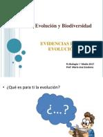 I° Medio- (1) Evolucion y biodiversidad_ Evidencias evolutivas 2017