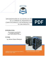 Proyecto Implantacion de Un Centro de Computo