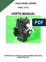 MCP233 Motor Parts Manual