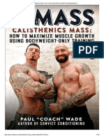 Old-School-Calisthenic-Beginner-Workouts pdf | Physical Fitness | Muscle