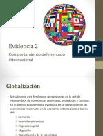 Evidencia 2 Comportamiento Del Mercado Internacional