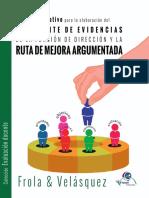 Manual Operativo Para La Elaboración Del Expediente de Evidencias de La Función de Dirección y La Ruta de Mejora Argumentada