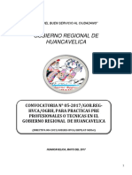 55010 Bases de La Quinta Convocatoria de Practicas - 2017-1