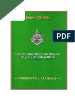 Alĝeria animkonflikto - Condon Roger (Cas de Conscience en Algerie)