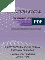Bretones, m. t. Estructura Social. Sociedades Avanzadas. Presentación Power Point