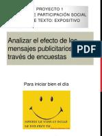 Mensajes Publicitarios_3er Grado