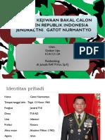 REFARAT Analisis Kejiwaan Jendral TNI Gatot Nurmantyo