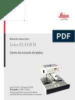 Centro de Inclusión de Tejidos - Leica EG 1150 H - Manual