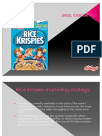 Kellog's Rice Krispies Cereal Brand Presentation