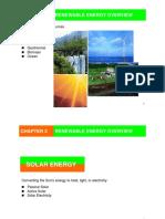 Chapter III Renewable Energy Overview