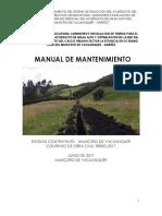 Manual de Mantenimiento-contrato Br003-2017