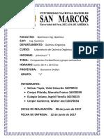 Informe 7 Labo de Orgánica.