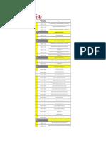 Listado de Documentos Conexion CH San Diego Al SEIN