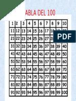 tabla 100