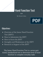 jamar hand function assessment