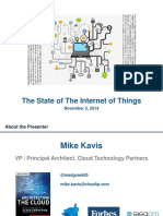 Mike Kavis State of IoT 2014
