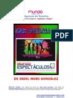 Agencia de Eventos y fiestas MUNDO ESPECTÁCULOS