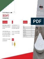 FT50. Nitrato de Amonio Grado Anfo