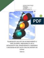 Perfil  semaforizacion
